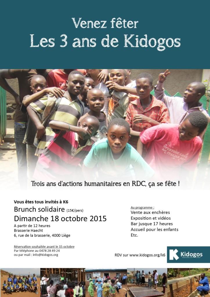 Invitation K6 - dimanche 18 octobre 2015