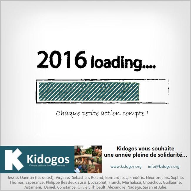 Kidogos - Voeux Kidogos 2015